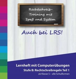 Lernheft Deutsch Stufe B- Rechtschreibregeln 1