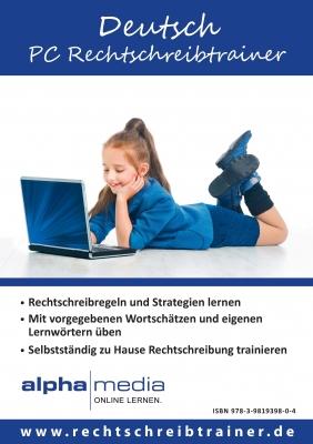 Lernsoftware PC Rechtschreibtrainer Deutsch